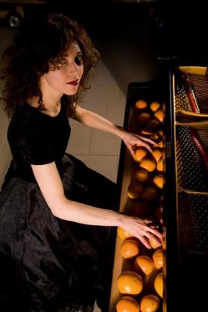 Debora Petrina in concerto a Certaldo (Firenze)